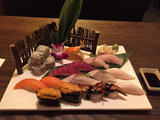 Tokyo Asian Fusion Sushi Hibachi & Bar: Fantastic sushi