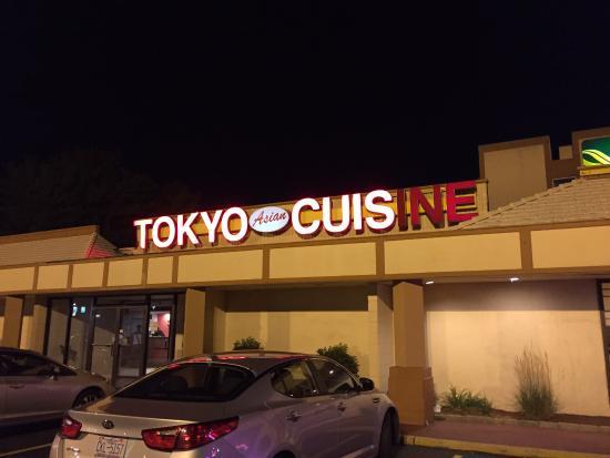 Tokyo Asian Fusion Sushi Hibachi & Bar: TOKYO CUIS  hahaha