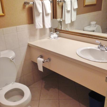 The Lord Nelson Hotel & Suites: Large, beautiful bathroom