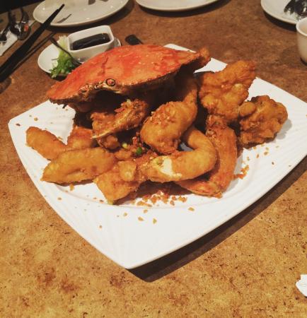 Cangrejo increíblemente delicioso
