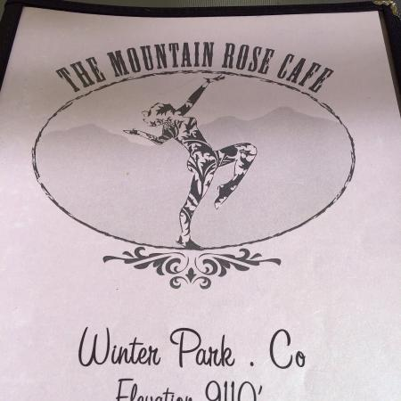 Mountain Rose: Menu shots and outside dining