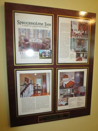 Spruceholme Inn: description of some of the history
