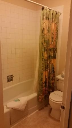 Rocky Mountain Lodge: Full-sized bathroom
