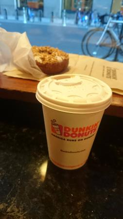 Coffee Cake Muffin At Dunkin Donuts Picture Of Dunkin Donuts New