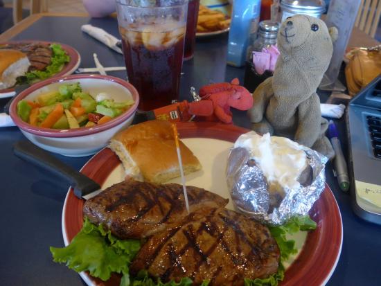 Kranberry's Chatterbox: Dinner Steak