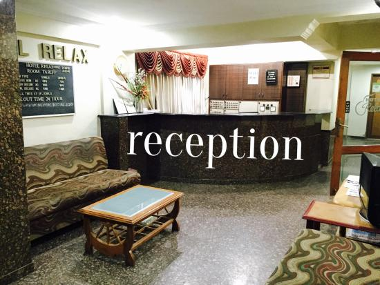 Hotel Relax: reception