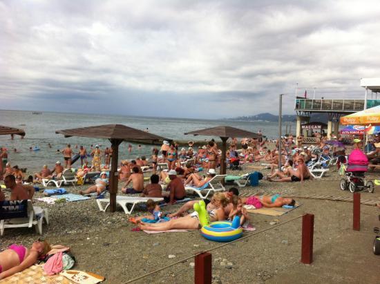 Адлер пляжи отзывы 2018 фото