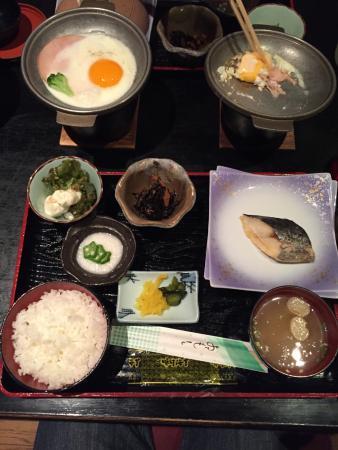 Hiroshima Pacific Hotel: 私が食べた朝食です。