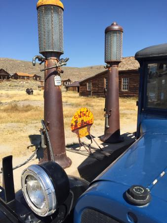 Shell Gas Station in Bodie - Picture of Bodie State Historic Park