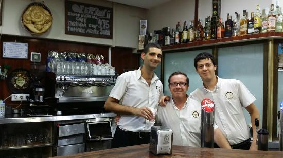 Cafeteria Bar los Ninos del Flor: Cafetería Bar Los Niños del Flor.
