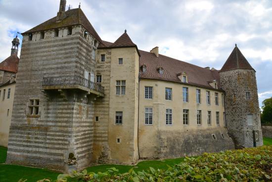 Château d'Epoisses: La tour du Grand Condé.
