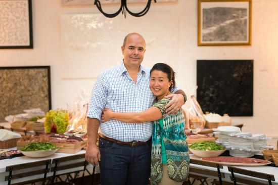 Stefano & Naoko Vallebona (The Owners)