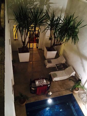 Bellamane, Ryad & Spa: Vue cour