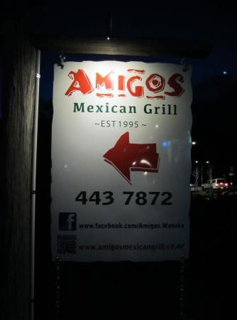 AmiGos Mexican Grill : AmiGos this Way.