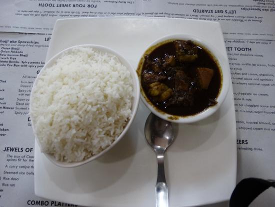 Taste Of Coorg: Pondi curry