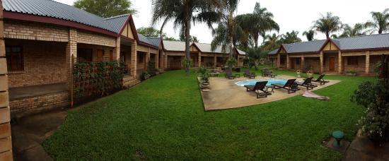 Kwa Lala: courtyard