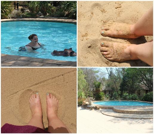 Aquanzi Lodge: Swimming