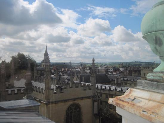 Sheldonian Theatre: A view from the cupola