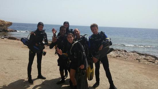 Sinai Divers Dahab: the german group amd me