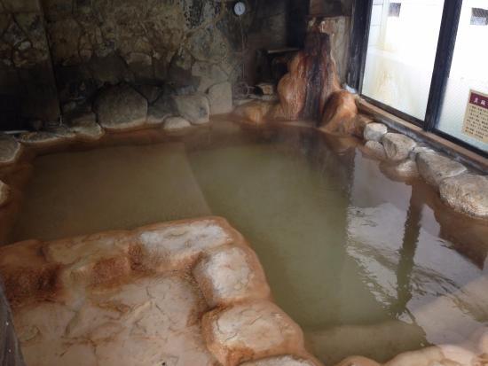 Sanrakuen : 半露天風呂