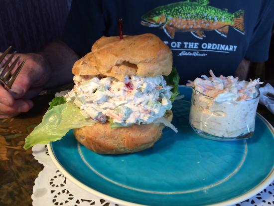New Berlin, NY: Chicken Salad Sandwich - come hungry