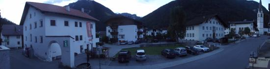 A view from my room in Hotel Tyrol