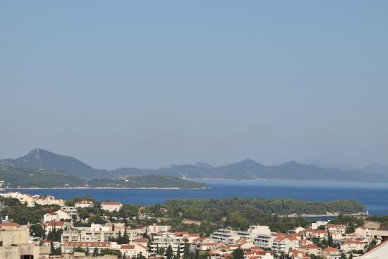 Villa Ivan: View in daylight - seaview room