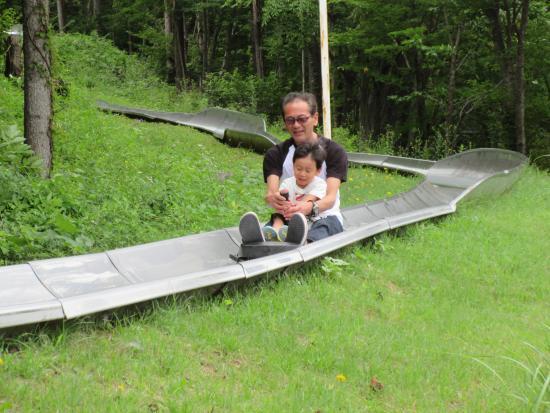 キョロロン村キャンプ場, どきどきスライダー