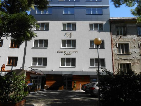 Chillen auf der dachterasse bild von mama 39 s design for Mama s design boutique hotel 811 08 bratislava
