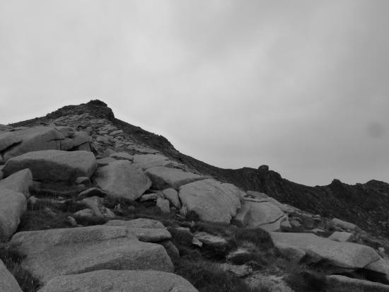 Isle of Arran, UK: The top of Goatfell