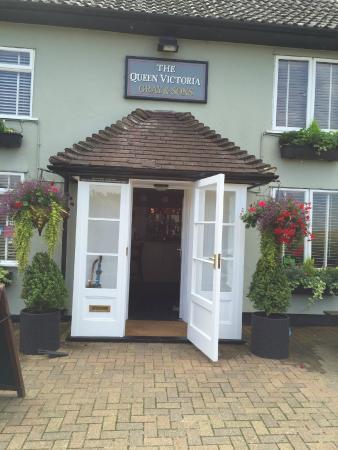 Queen Victoria entrance