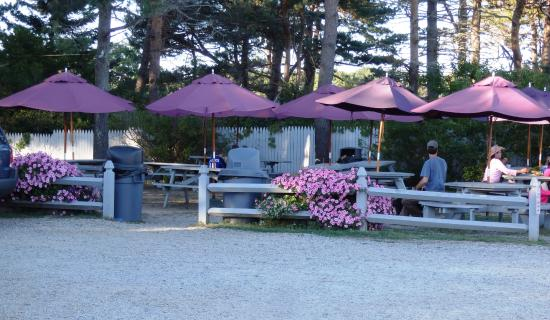 North Hampton, NH: seating outside