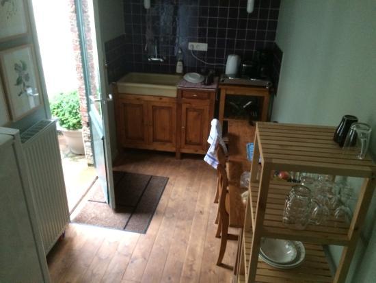 Ridderspoor Holiday Flats: Kitchen/balcony door...
