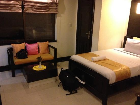 ザクールホテル, 室内は広々
