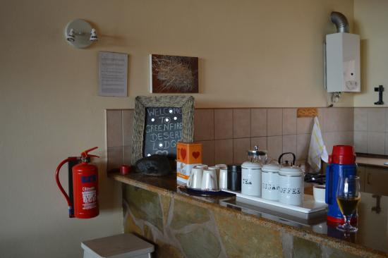 Greenfire Desert Lodge : Speiseraum Drifters Desert Lodge