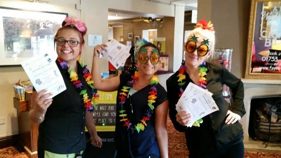 Hawaiian beach party fun at the Crooked Billet