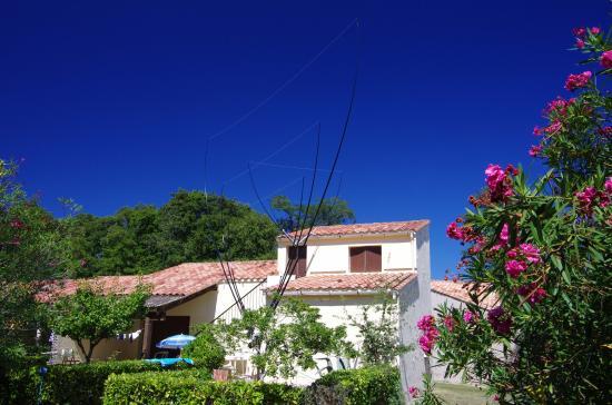 Domaine de l'Avidanella : Haus in Avidanella genutzt von Amateurfunkern aus Italien