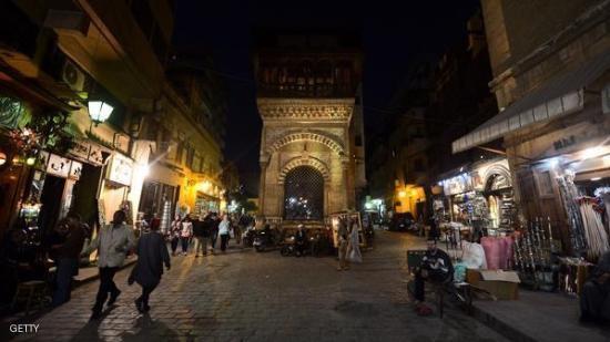 Sharia Al Mu'izz Li-Din Allah : At night
