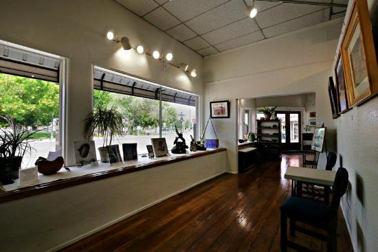 Socorro, NM: One of the four rooms that comprise the Vertu Fine Art Gallery