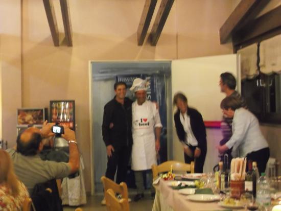 ultima cena (hotel saint martin aprica)con il gruppo vallermosa (sardegna)