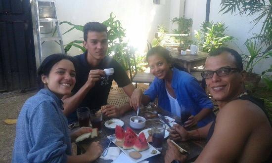 El Cardon, Венесуэла: Desayunando en familia!!