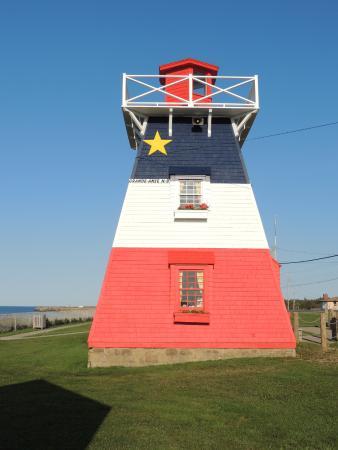 Grande Anse Lighthouse: Acadie