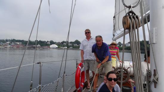 Sailing into the Sail Inn B&B