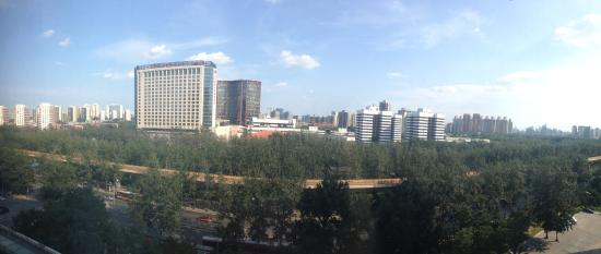 Courtyard by Marriott Beijing Northeast: View from my room