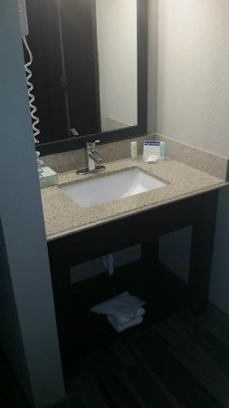 Comfort Inn Cleveland Airport: Guest Vanity Area