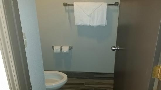 Comfort Inn Cleveland Airport: Guest Bathroom