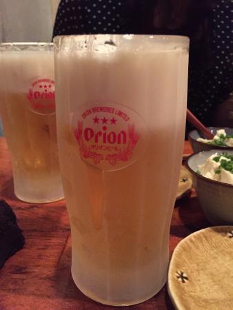 Mori no Kenja: キンキンに冷えたオリオンビール