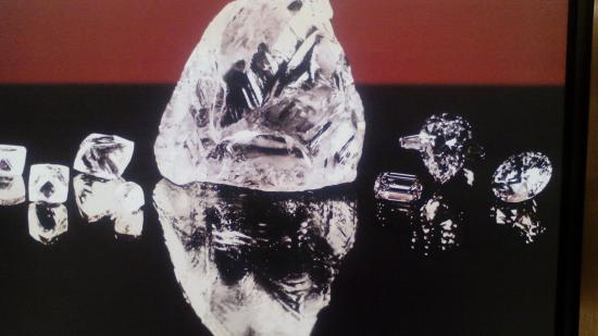Cullinan Diamond 3106cts is the world's laggerst