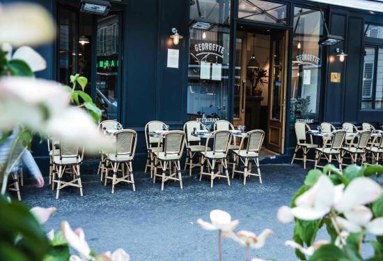 Restaurant georgette paris saint germain des pr s - Hotel avec piscine pres de paris ...
