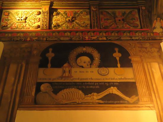 Rug chapel wall painting - Picture of